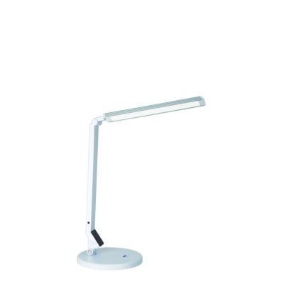 LED lámpa USB töltővel, fekete